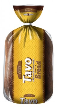 White Tavo bread with sunflowers seeds